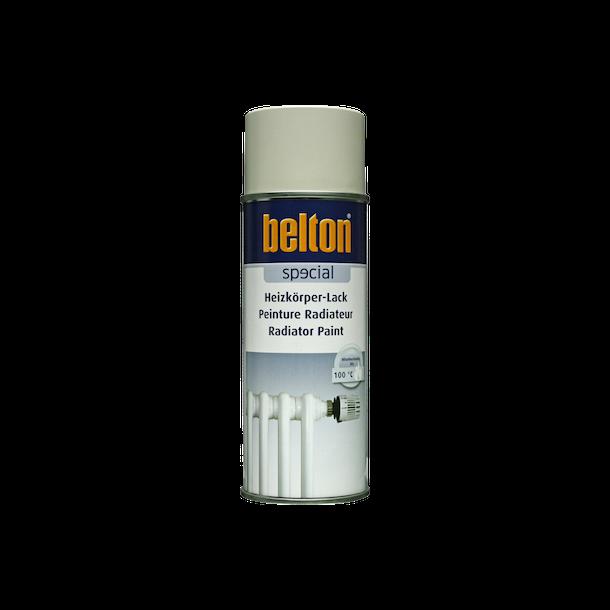 Belton 323 radiatorspray 400 ml. Gråhvid RAL9002