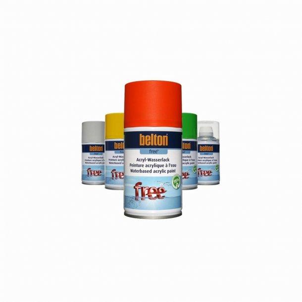 Belton Free Akryl (400 ml. Sort RAL 9005 - Mat)