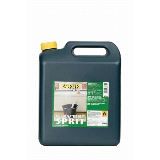Borup Sprit (Denatueret 93%) 5 liter