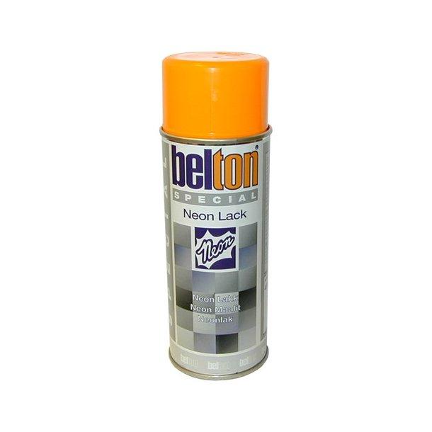 Belton 323 Speciel Neon spray Orange 400 ml.