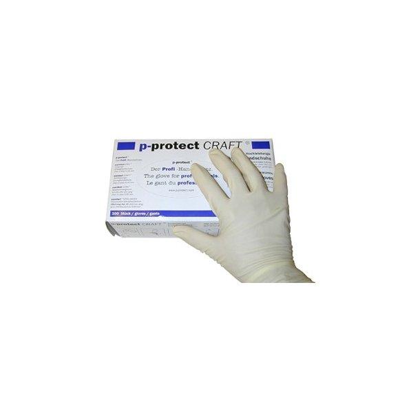 CRAFT latex handsker (Par, Str. 8 large)
