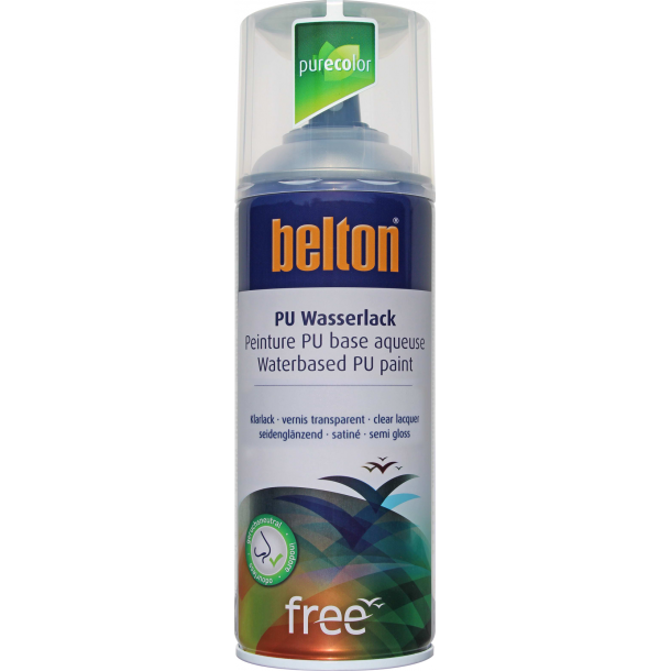 Belton Free SGL klarlak (400 ml. Halvblank).